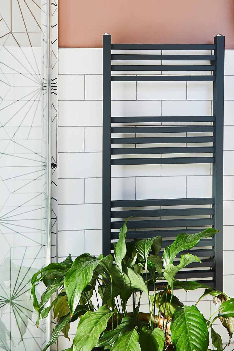 designer towel rail